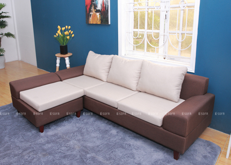 Sofa nỉ góc giá rẻ E06