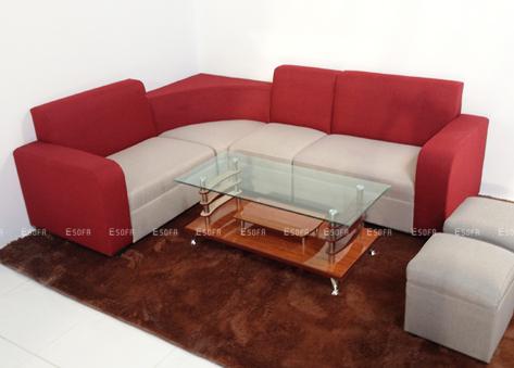 Sofa nỉ góc giá rẻ E03