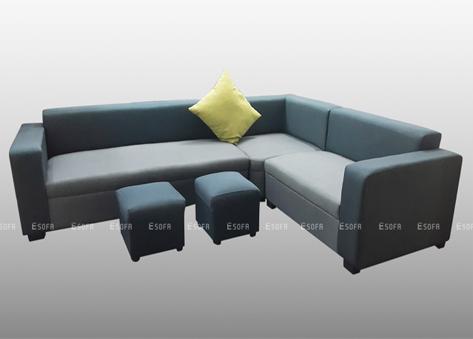 Sofa nỉ góc giá rẻ E09
