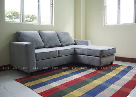 Sofa nỉ góc đẹp E08