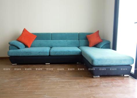 Sofa nỉ góc Hàn Quốc E19