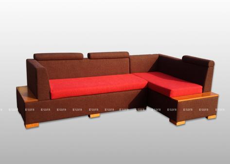Sofa nỉ góc giá rẻ E12