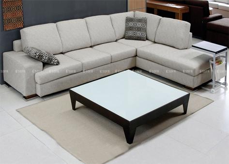 Sofa nỉ góc Hàn Quốc E26