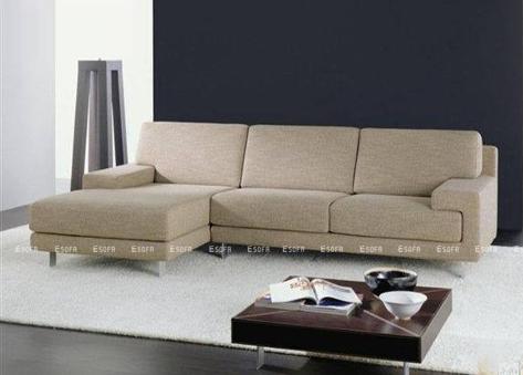 Sofa nỉ góc Hàn Quốc E17