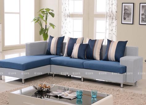 Sofa góc nỉ E25