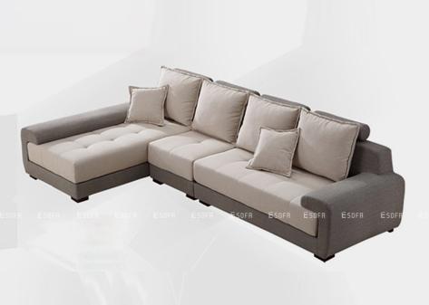 Sofa góc nỉ E41
