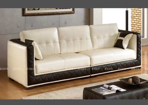 Sofa văng E21 da nhập Indonesia