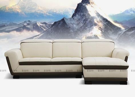 Sofa góc da Hàn Quốc E253
