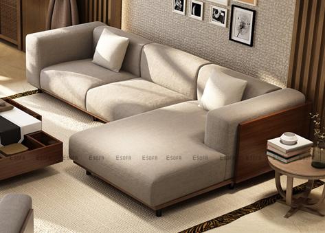 Sofa góc nỉ E263