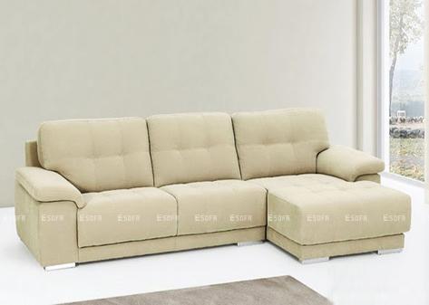 Sofa góc nỉ E32
