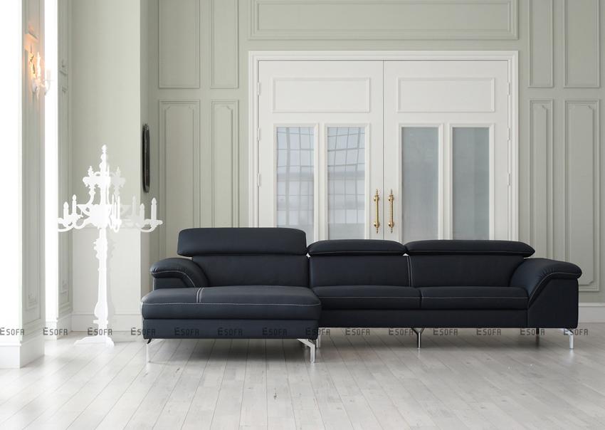 Không gian sống thay đổi 180 độ khi có sofa da
