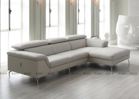 Sofa góc da Hàn Quốc E267