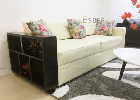 Sofa tay gỗ Hàn Quốc E160
