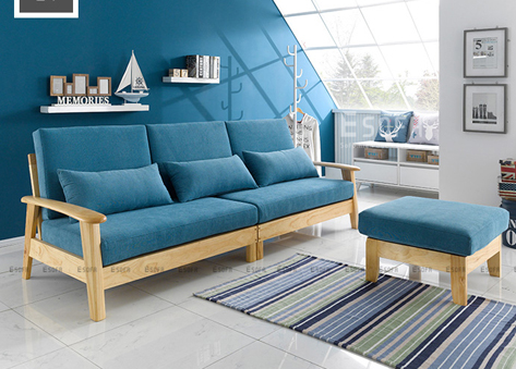 Sofa gỗ Hàn Quốc hiện đại E175