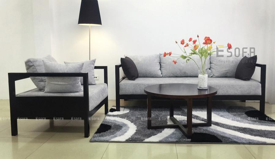 Gợi ý chọn sofa gỗ đẹp cho phòng khách