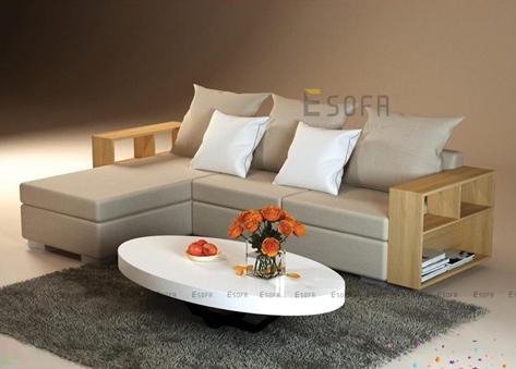 Sofa tay gỗ E164