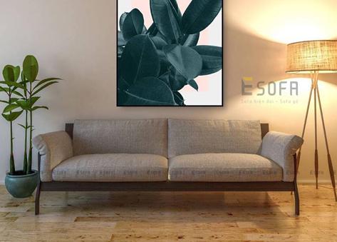 Sofa văng gỗ hiện đại E170