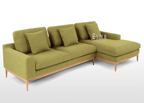 Sofa chân gỗ E163