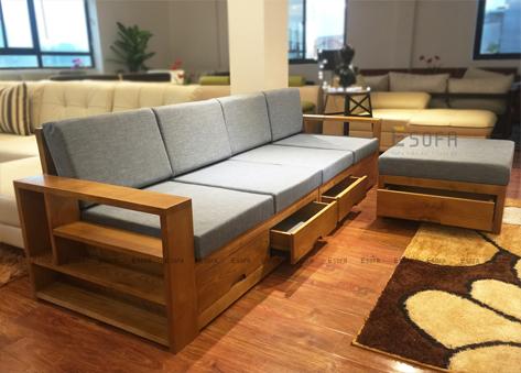 Sofa văng gỗ E178
