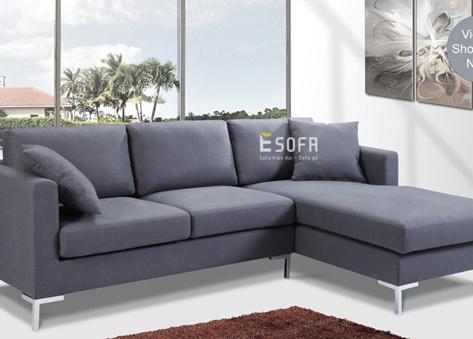 Sofa góc nỉ E61