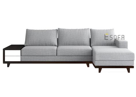 Sofa góc nỉ Indo E66