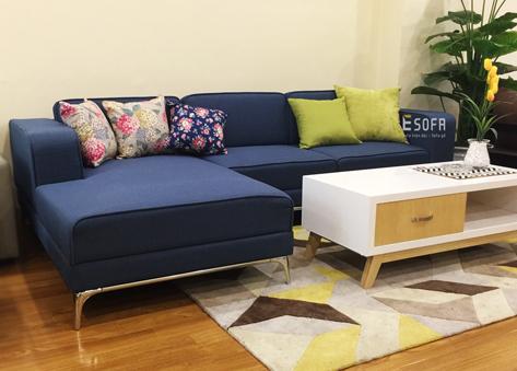 Sofa nỉ góc E69