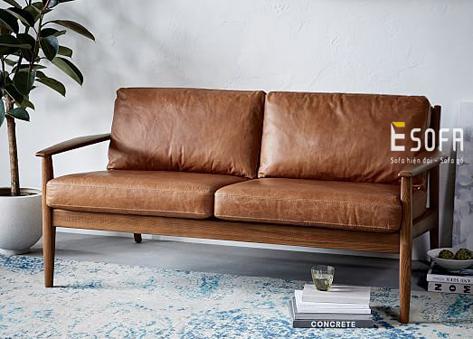 Sofa văng gỗ đệm E183