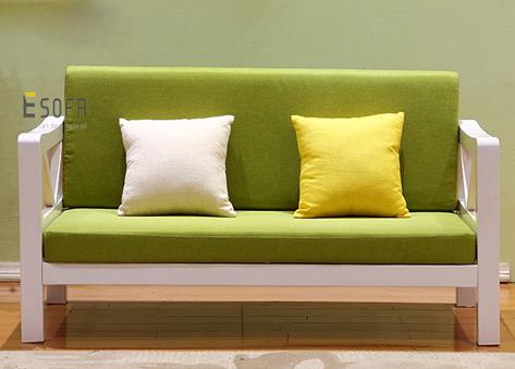 Sofa văng gỗ hiện đại E181