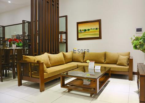 Sofa gỗ E213