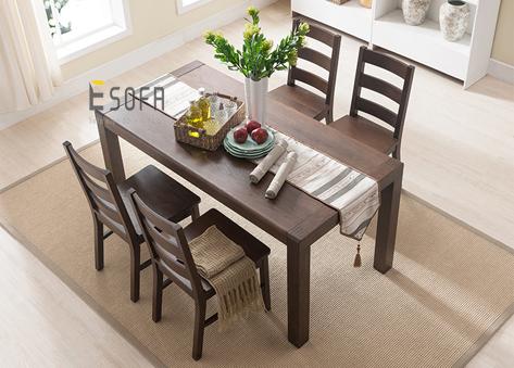 Bộ bàn ăn 4 ghế sang trọng ED14