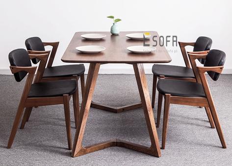 Bộ bàn ăn gia đình kiểu dáng hiện đại