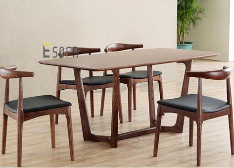 Bộ bàn ăn gỗ 4 ghế ED02