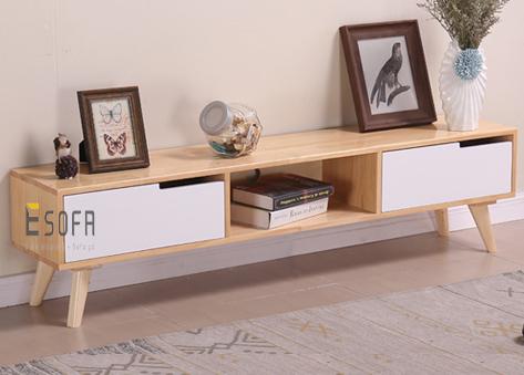 Kệ tivi gỗ cho phòng khách nhỏ ET15