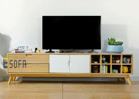 Kệ tivi gỗ công nghiệp hiện đại ET08