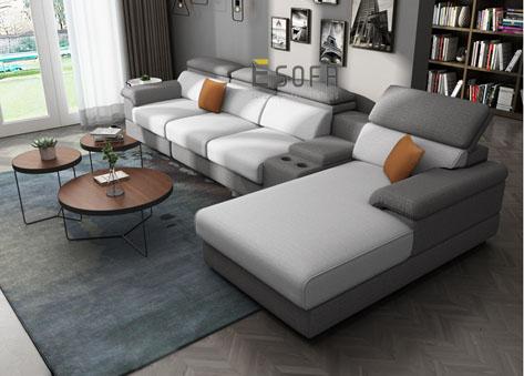 Sofa góc đẹp E76