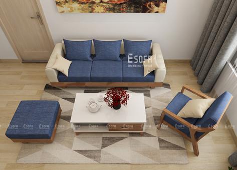 Sofa văng gỗ E219