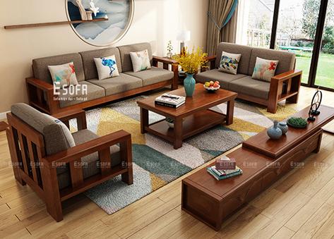 Sofa văng gỗ E225