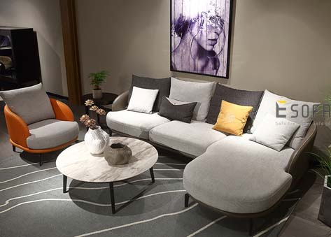 Sofa văng Da Nỉ đẹp E81