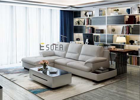 Sofa văng da đẹp E84