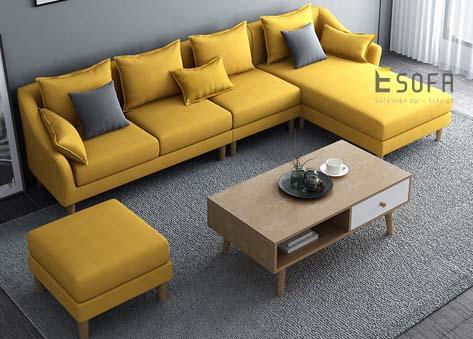 Sofa văng nỉ đẹp e79