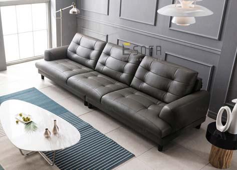 Sofa văng DA đẹp e78