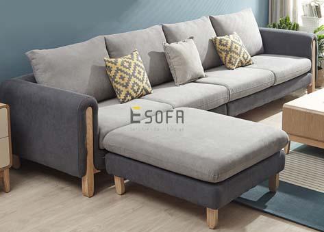 Sofa văng nỉ đẹp e77