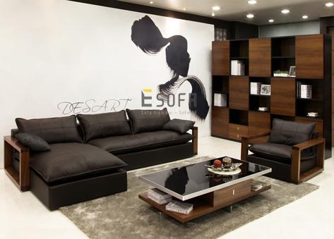 Sofa gỗ đệm cao cấp E255