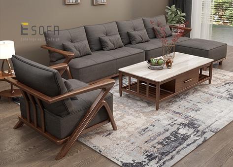 Sofa gỗ E242