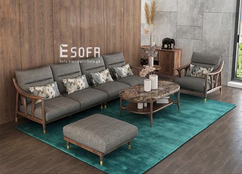 Sofa văng gỗ hiện đại E245