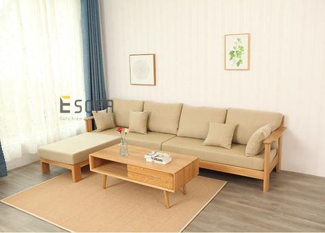 Sofa văng gỗ thông minh E253