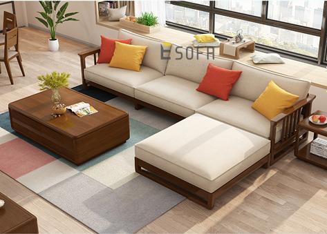 Sofa gỗ E222