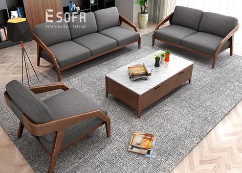 Sofa gỗ E232