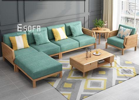 Sofa gỗ E195