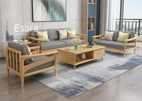 Sofa gỗ E196